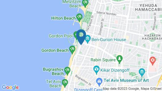 Brown Seaside by Brown Hotels Map