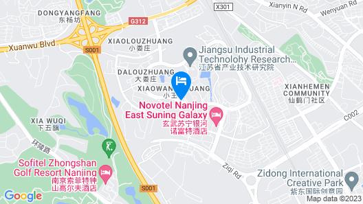 Novotel Nanjing East Suning Map