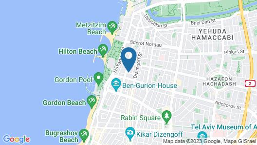 Sea N'Rent - 3 Vilna Tel Aviv Map