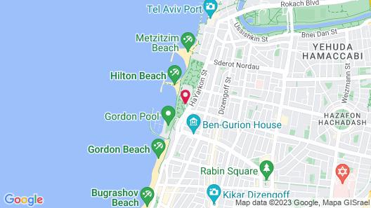 Hilton Tel Aviv Map