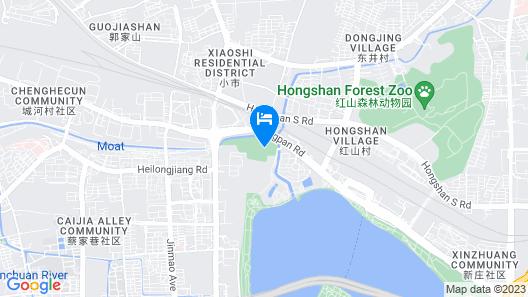 Nanjing Shuguang International Hotel Map