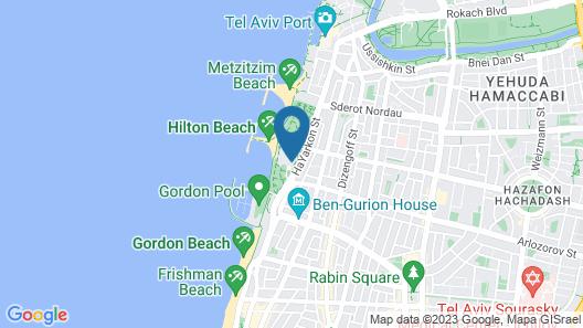 The Vista at Hilton Tel Aviv Map