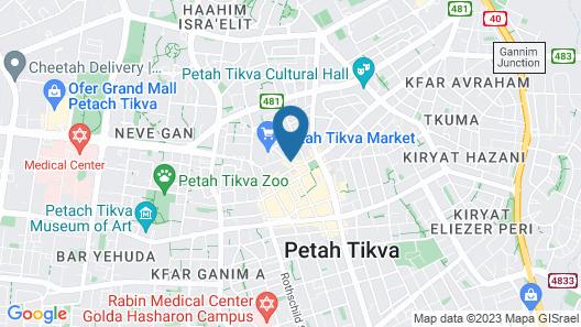 Star Apartments Petah Tikva Map