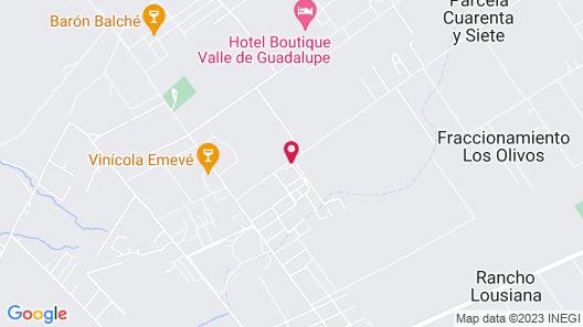Villas en Los Retoños Map