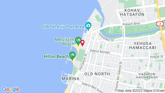 Alexander Boutique Hotel by the Beach Map