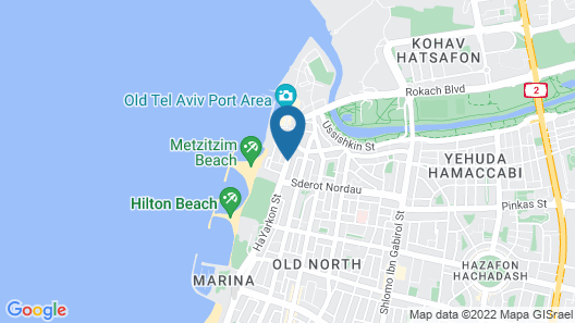 Tal by the Beach - an Atlas Boutique Hotel Map