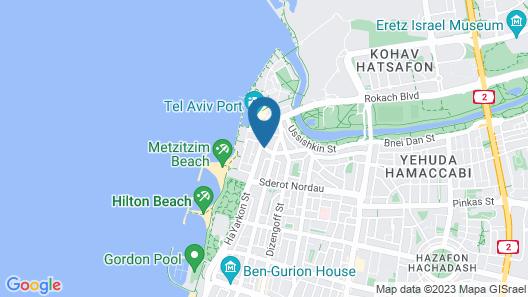 The Port Hotel Tel Aviv Map