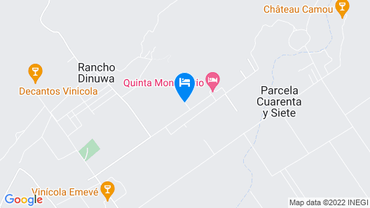 Hotel Boutique Valle de Guadalupe Map