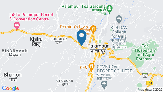 The Bliss Palampur Map