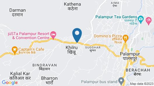 Pops Hotel & Restaurant Map