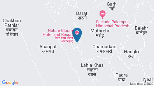 Nature Bloom Dharamshala Hotel and Resort Map