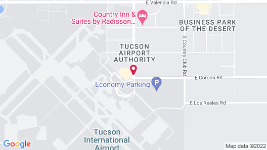 Four Points by Sheraton Tucson Airport Map