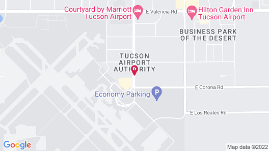 Hampton Inn Tucson-Airport Map