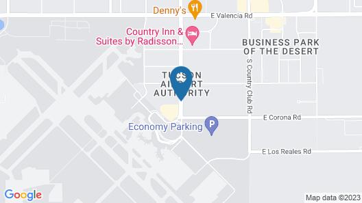 La Quinta Inn & Suites by Wyndham Tucson Airport Map