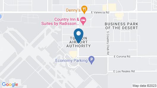 Baymont by Wyndham Tucson Airport Map