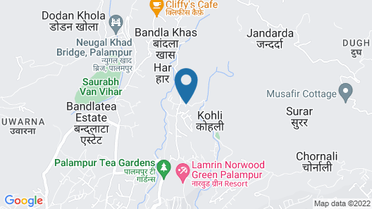 Hotel Ashiana Palampur Map