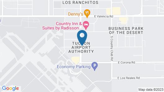Sonesta Select Tucson Airport Map