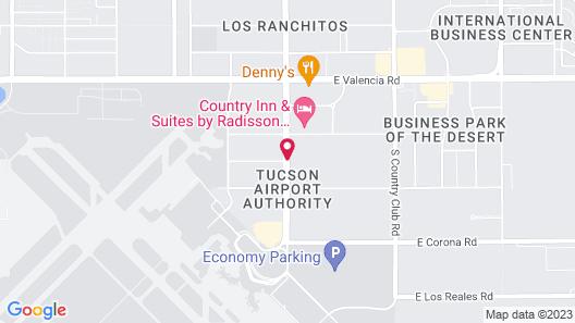 Best Western Tucson Int'l Airport Hotel & Suites Map