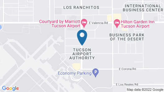 Best Western Tucson Int'l Airport Hotel & Suites Map