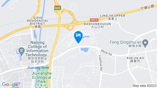 Atour Hotel Xianlin Campus City Innopark Nanjing Map