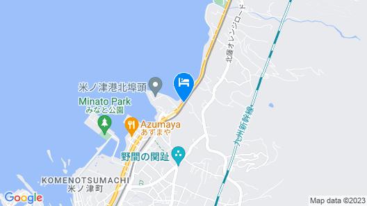 OYO Hotel Izumi Yusen Shukuhaku Center Map
