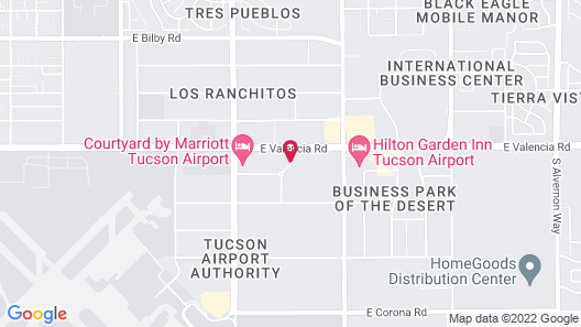 TownePlace Suites by Marriott Tucson Airport Map