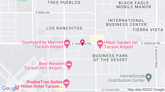 Home2 Suites by Hilton Tucson Airport Map