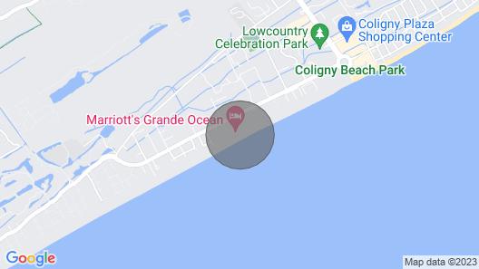 Marriott's Grande Ocean, Hilton Head Island March 21-28, 2021 Map