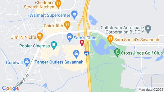 Holiday Inn Hotel & Suites Savannah Airport - Pooler, an IHG Hotel Map