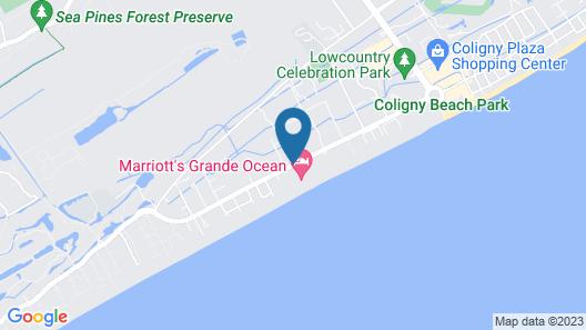 Marriott's Grande Ocean Map