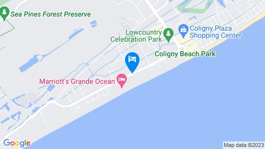 Ocean Oak Resort By Hilton Grand Vacations Map