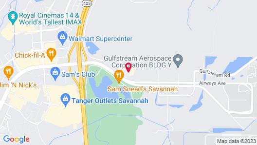 Country Inn & Suites by Radisson, Savannah Airport, GA Map