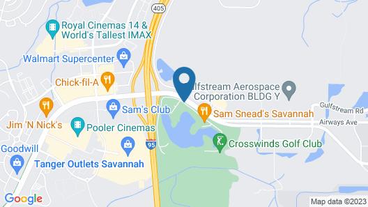 Wingate by Wyndham Savannah Airport Map