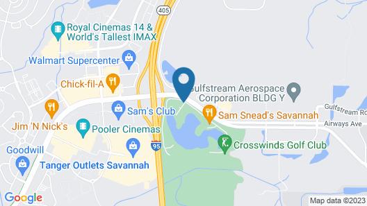 Hyatt Place Savannah Airport Map