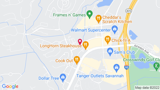 Residence Inn by Marriott Savannah Airport Map
