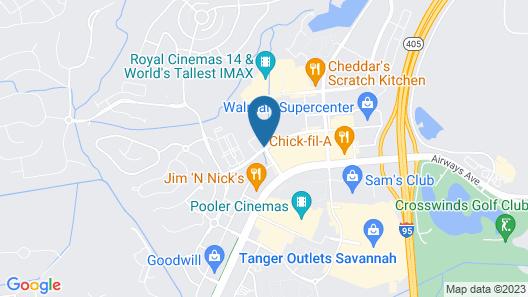Home2 Suites by Hilton Savannah Airport, GA Map
