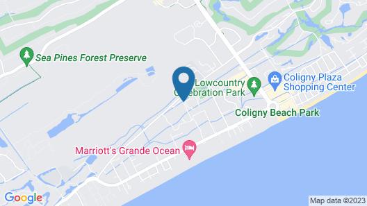 Best Western Ocean Breeze Inn Map