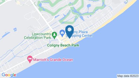 SeaCrest Resort Map