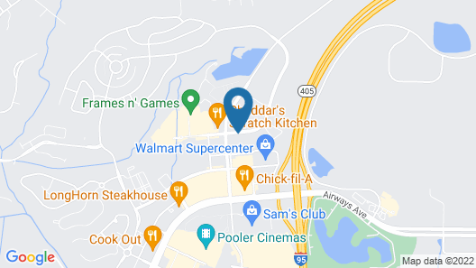 Embassy Suites by Hilton Savannah Airport Map