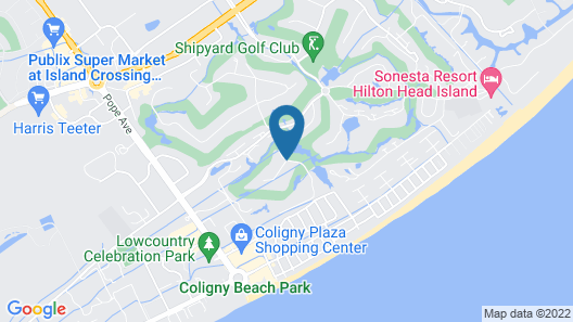 Coral Reef Resort Map