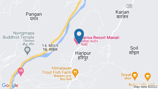 Larisa Resort, Manali Map