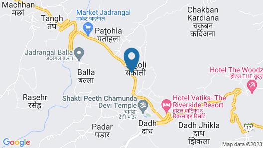 Hotel Atithi Map