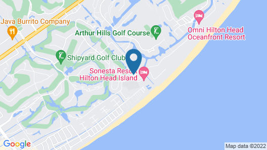 Sonesta Resort Hilton Head Island Map