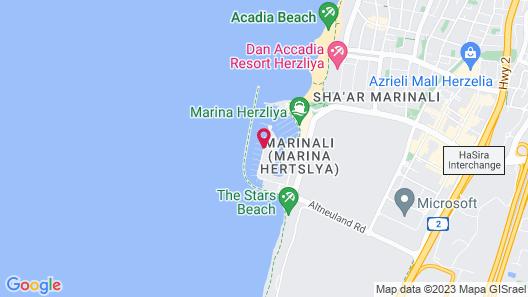 Herods Herzliya Map