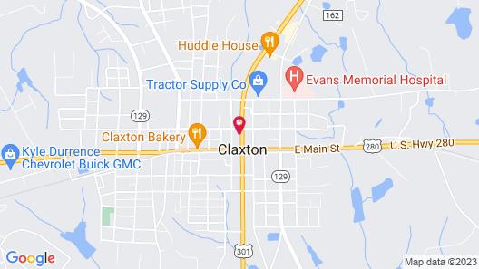Oak Tree Inn & Suites Map
