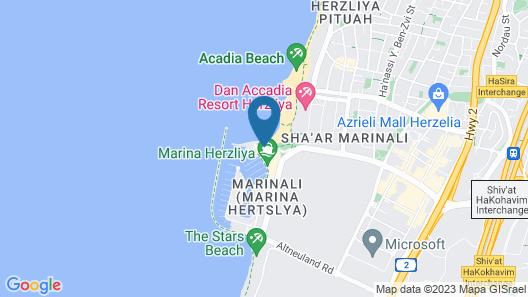 Deluxe 2 Bedroom Apartment in Herzylia Map