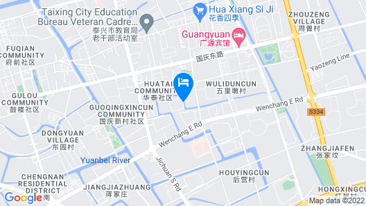GreenTree Inn Taizhou Taixin Wenchang Road Business Hotel Map