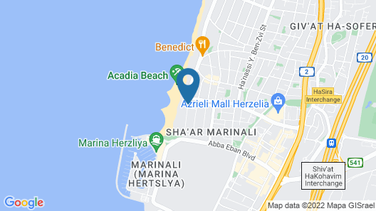 Marine Heights Suites Map