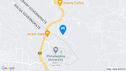 Wooden Arcs Resort & Spa Map