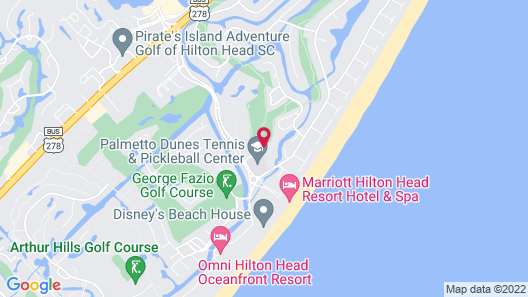 The Village At Palmetto Dunes By Hilton Head Accommodations Map